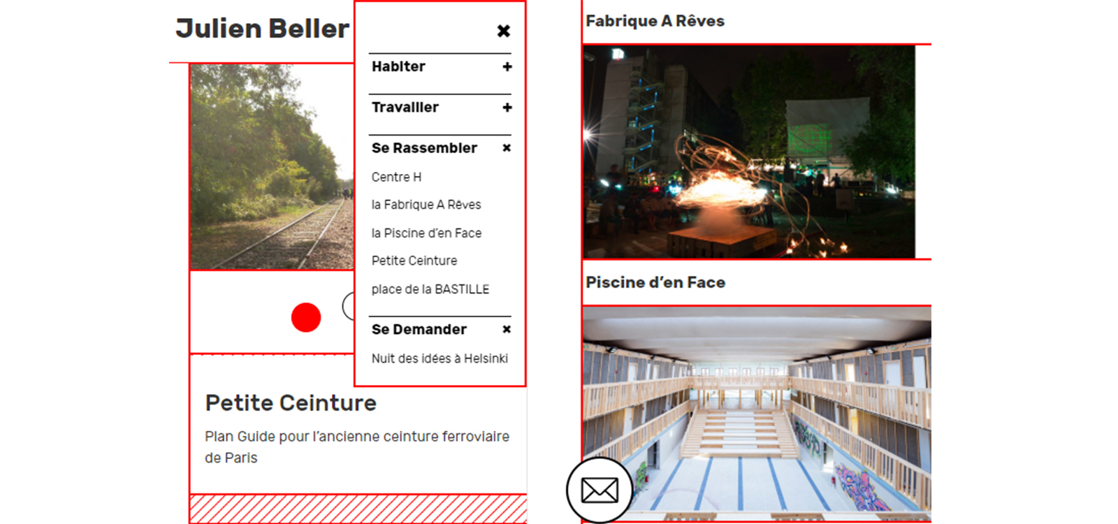 site Julien Beller architecte