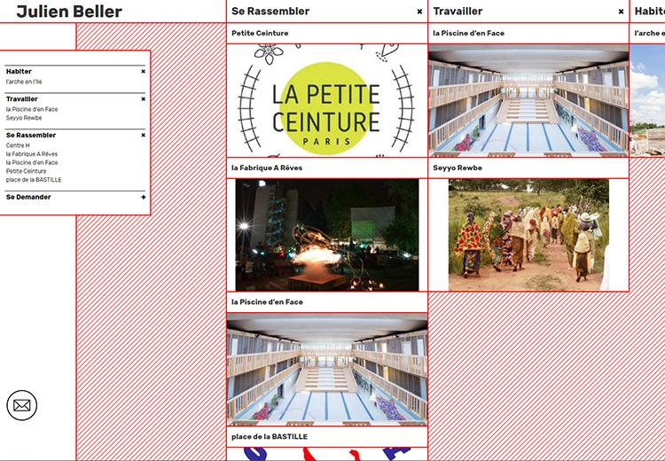 site Julien Beller architecte Saint-Denis