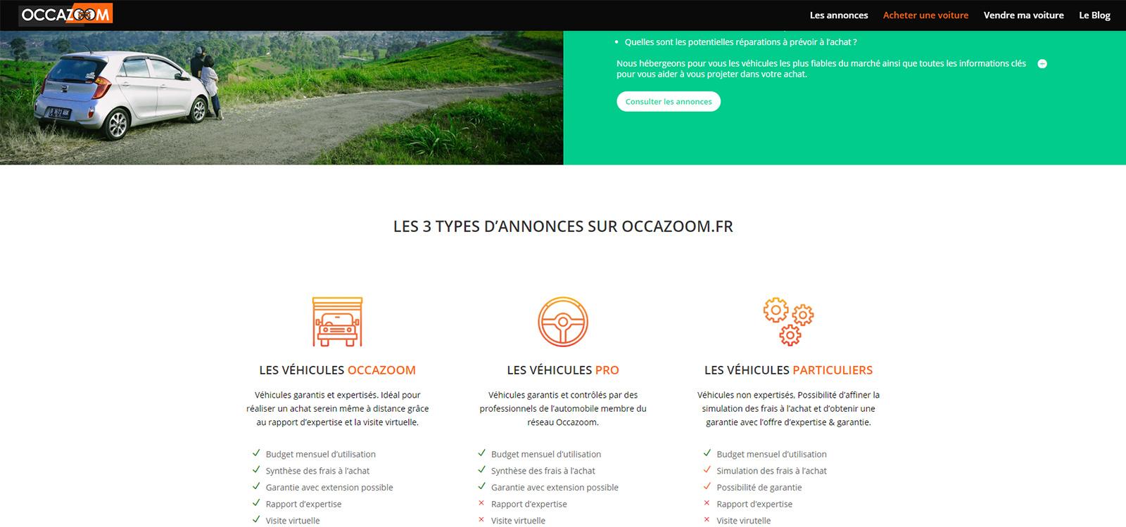 site Occazoom